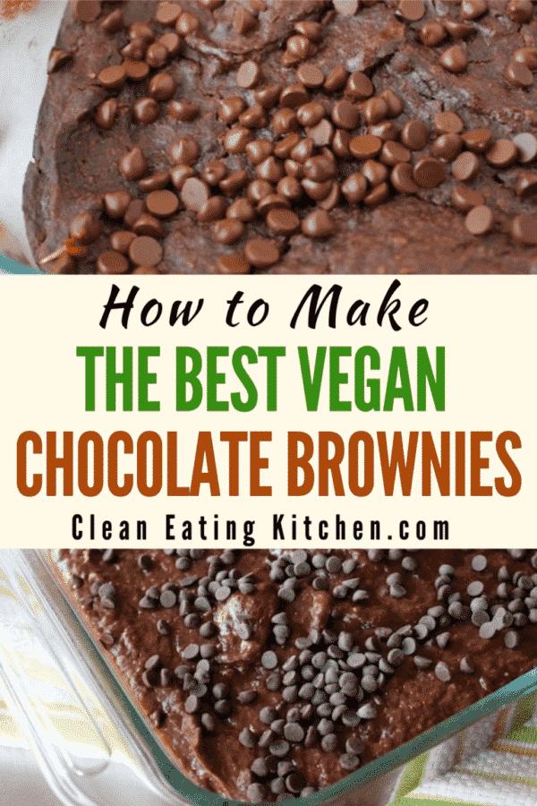 The Best Vegan Chocolate Brownies