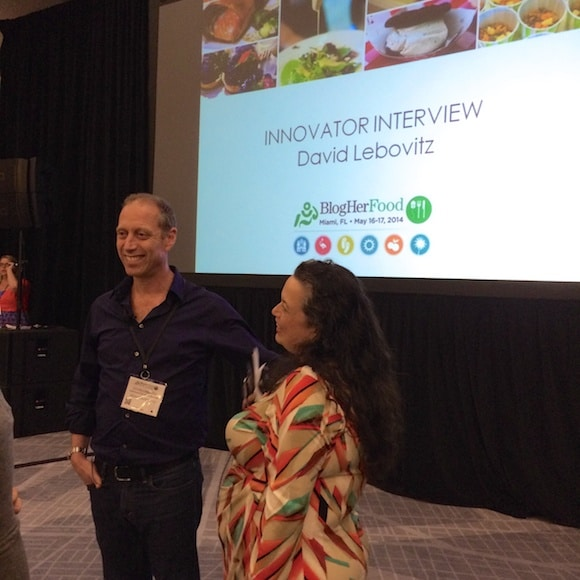 David Lebovitz at BlogHer Food Miami