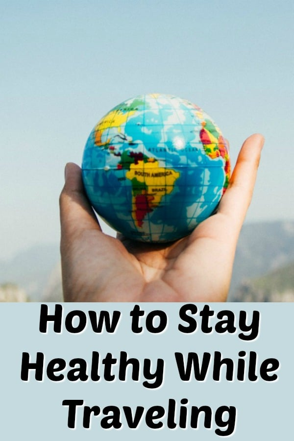 Travel can be stressful and unhealthy. You need to read these tips before your next trip! I share everything I've learned, including specific items to bring along to support health. #healthytips #travel #healthytravel #traveltips #cleaneatingkitchen