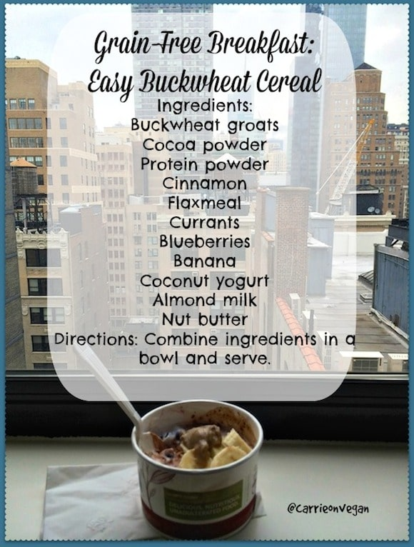 buckwheat cereal blend