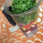 Daily Energy Smoothie from Carrie on Living | www.cleaneatingkitchen.com