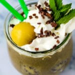 Chocolate Mint Smoothie dairy free