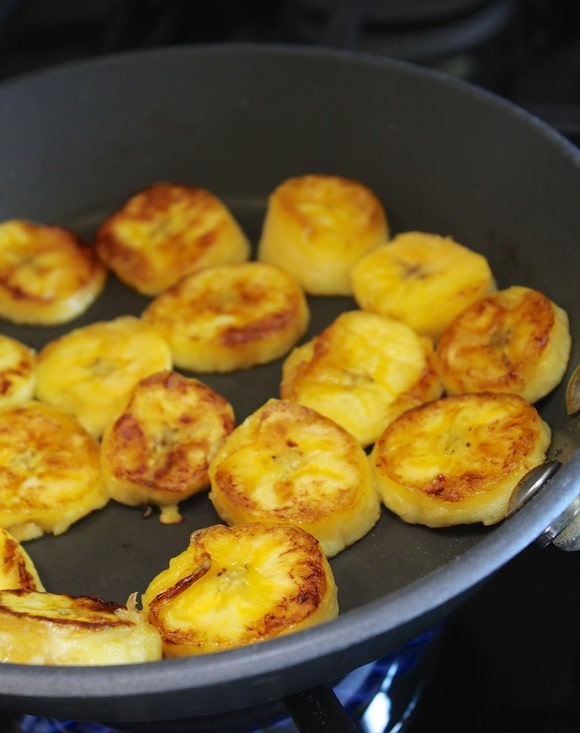 Fried plantains from Carrie on Living | www.cleaneatingkitchen.com