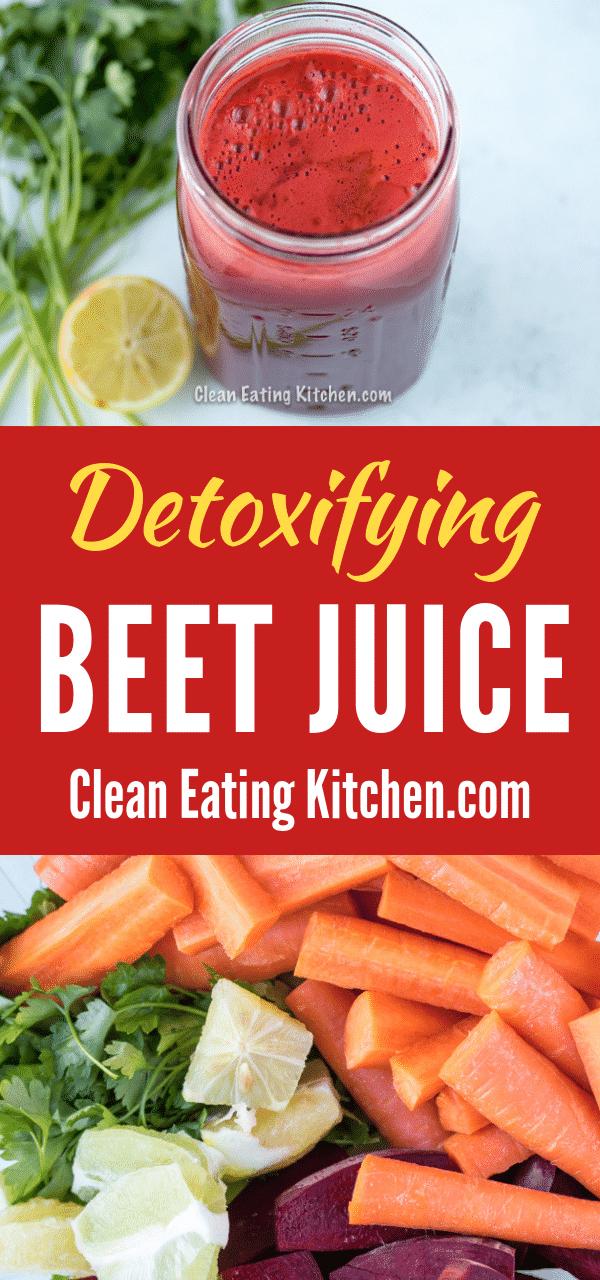 Detoxifying Beef Juice