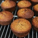 Healthier Honey-Bran Muffins from Carrie on Living | www.cleaneatingkitchen.com