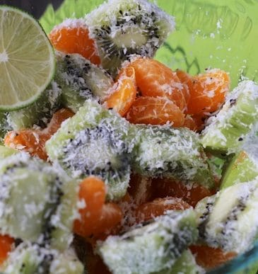 PCOS Focus & Coco-Hemp Fruit Salad Recipe