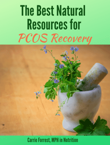 FB natural resources for PCOS recovery
