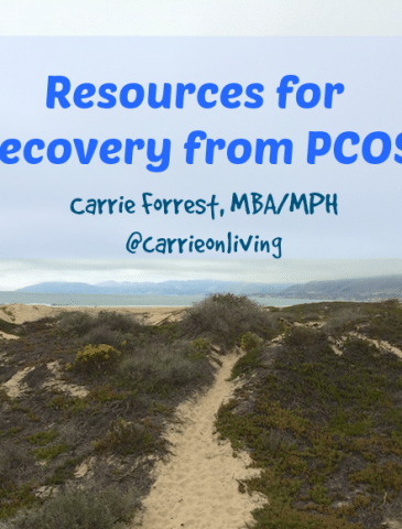 Resources for Recovery from PCOS