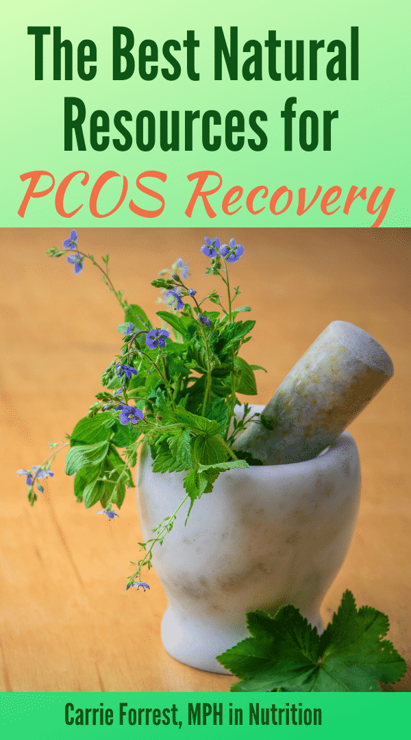 natural resources for PCOS recovery