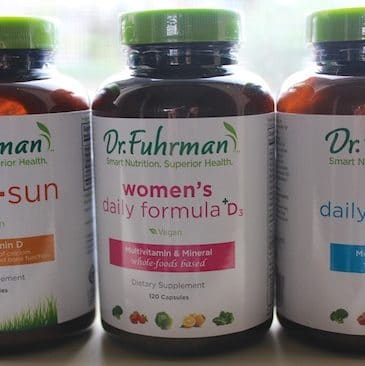 Dr. Fuhrman supplements from Carrie on Living | www.cleaneatingkitchen.com