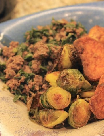 Turmeric Roasted Sprouts