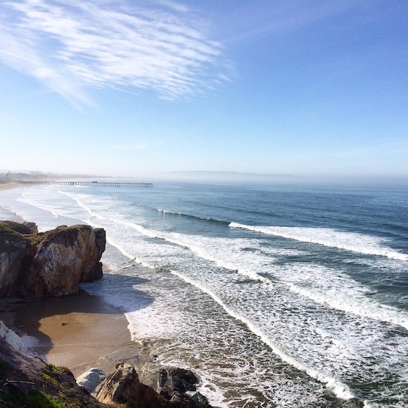 Ocean Bathing from Carrie on Living | www.cleaneatingkitchen.com