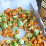 Ghee-Roasted Vegetables from Carrie on Living | www.cleaneatingkitchen.com
