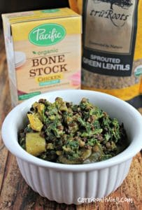 Lentil Coconut Stew with Kale & Summer Squash