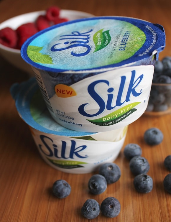 Silk Dairy-Free Yogurt Alternative featured on Carrie on Living | www.cleaneatingkitchen.com