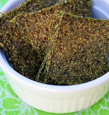 How to Make Green Juice Pulp Crackers