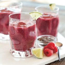 Cherry Berry Lime Smoothie from the Healing Smoothies book