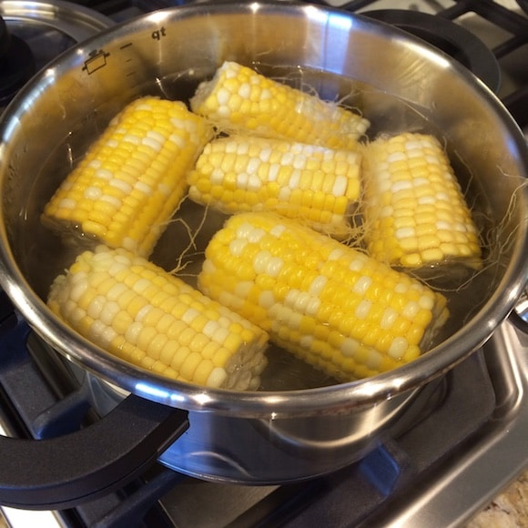 Fresh summer corn from Carrie on Living | www.cleaneatingkitchen.com