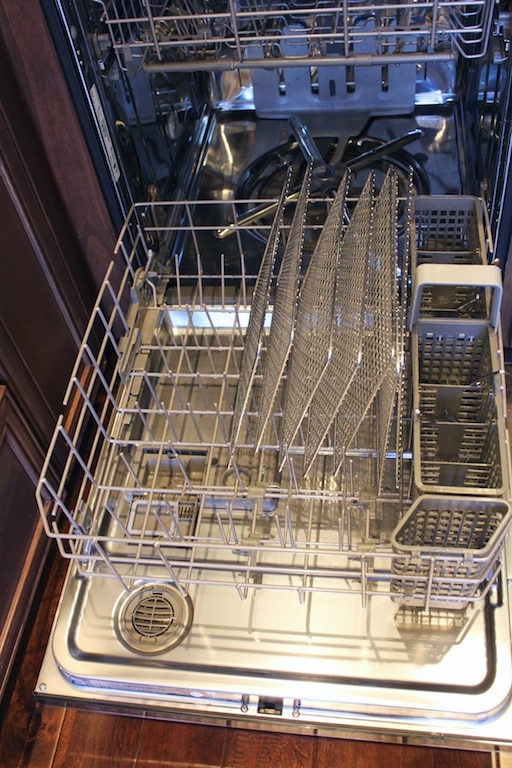 Sedona Express Dehydrator stainless steel trays in the dishwasher