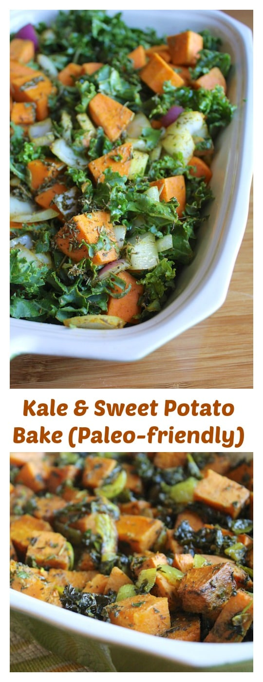 Kale & Sweet Potato Bake for an easy side dish.