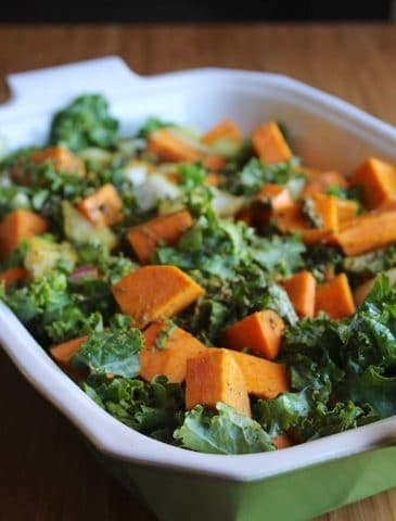 Gluten-Free Kale & Sweet Potato Bake