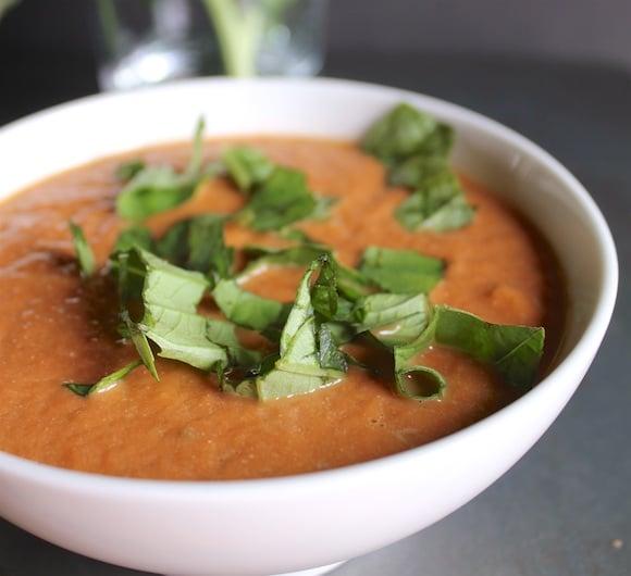 Dairy-Free Cream of Tomato Soup