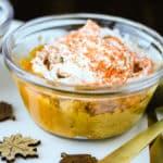 Dairy-free Pumpkin Pie Pudding close-up