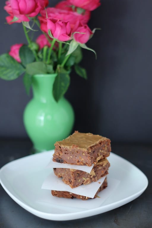 Healthy Chocolate Brownies with vegan options