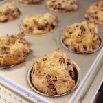Chocolate Chip Muffins using Otto's Paleo & Vegan Cassava flour