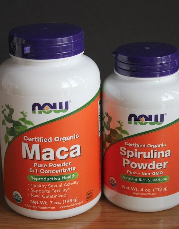 NOW Foods Maca and Spirulina