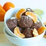 Chocolate Orange Hemp Ball ingredients