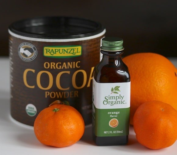Cocoa and orange extract
