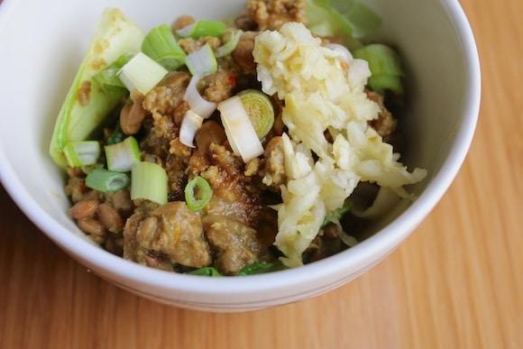 Crockpot veggie and meat stew with sauerkraut