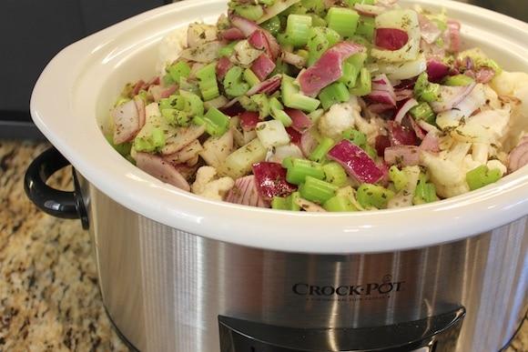 Crockpot veggies