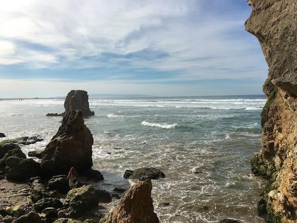 Pismo beautiful cliff