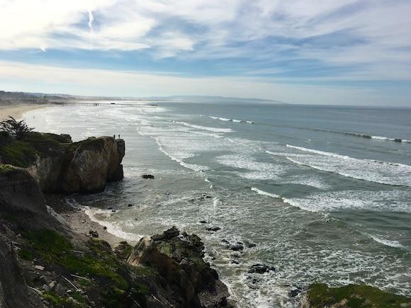 Pismo cliffs