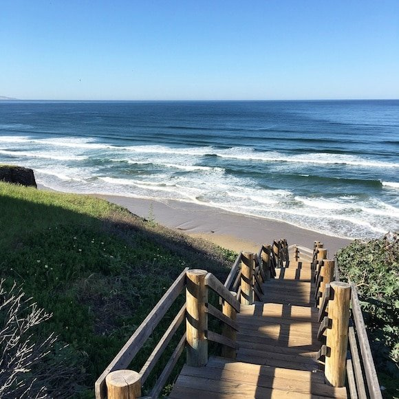 Pismo stairs