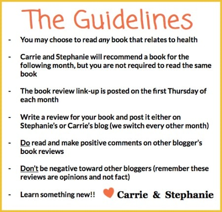 Healthy Blogger Book Club Guidelines