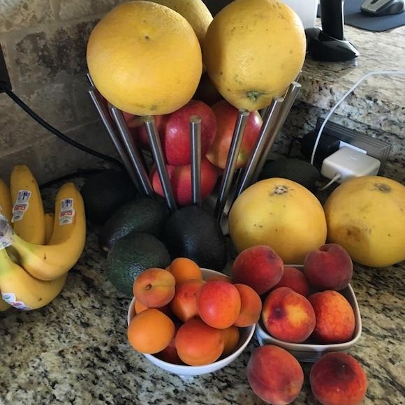 Fruit basket overflow