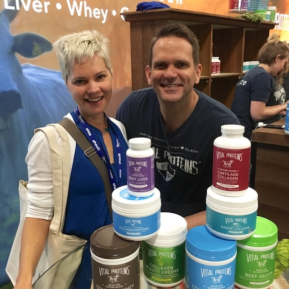 Carrie & Vital Proteins at Paleo Fx