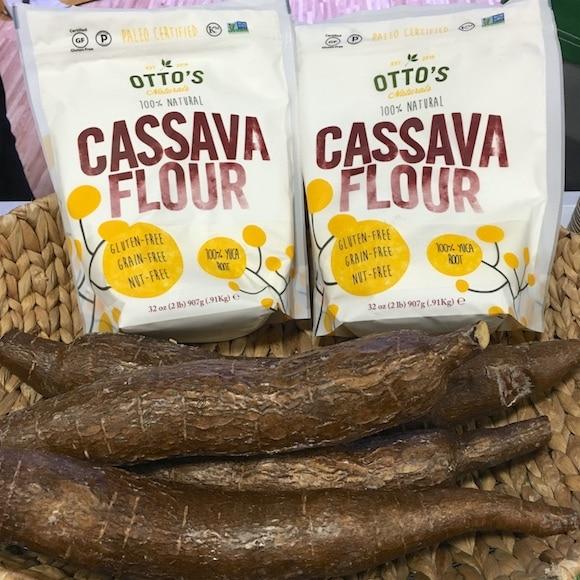 Ottos flour and whole cassava