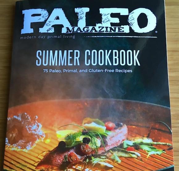 Paleo magazine summer cookbook