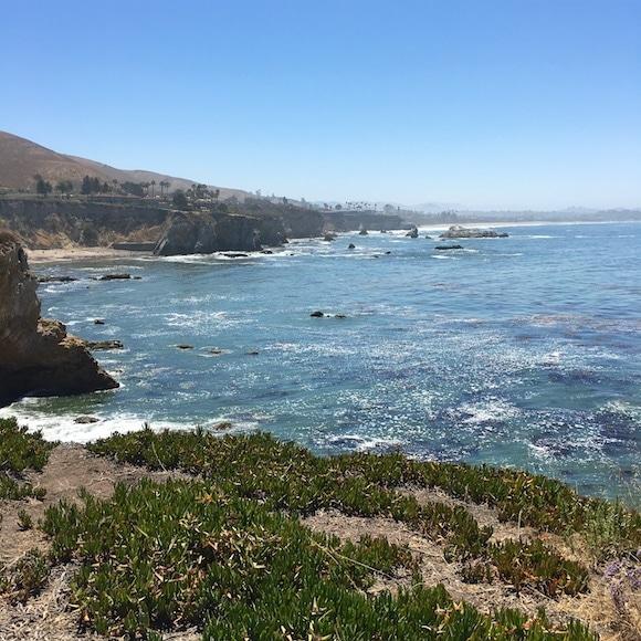 Pismo coastline