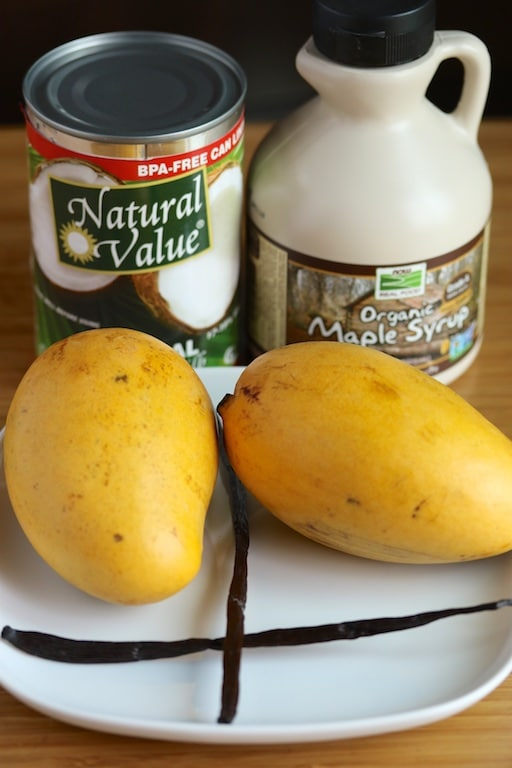 mango ice cream ingredients