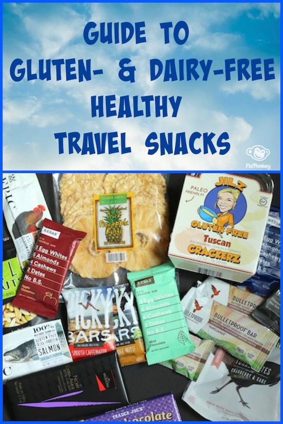 Guide to the Best Gluten- and Dairy-Free Healthy Travel Snacks #paleo #glutenfree #dairyfree #snacking
