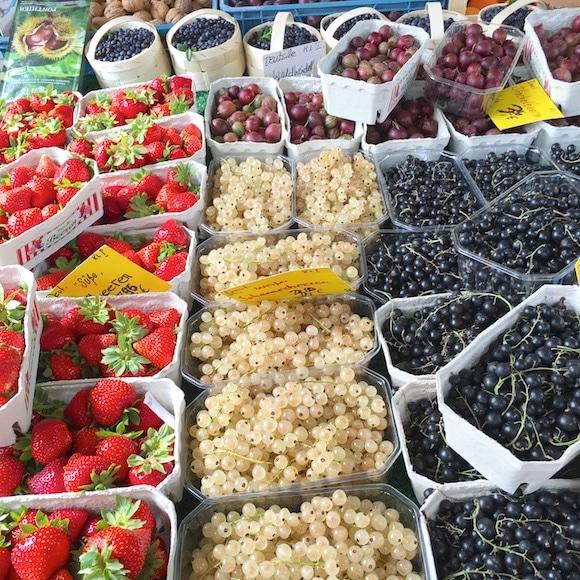 German summer berries