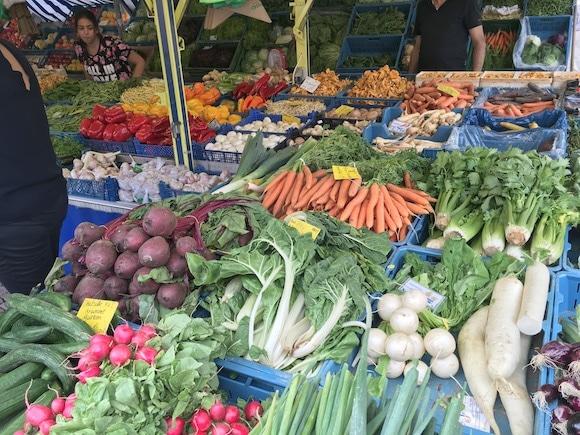 Green market Wiesbaden