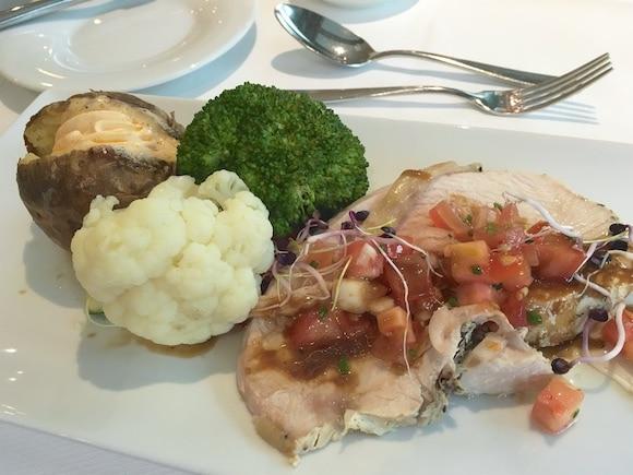 Turkey with veggies