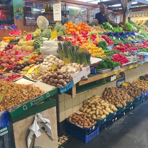 Frankfurt market veggies