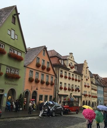 What I Ate in Rothenburg, Germany